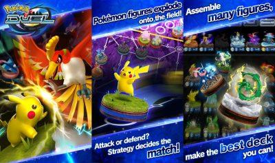 Pokémon Duel für Android und iOS veröffentlicht
