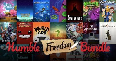 Über 45 Spiele für unter 30€ – Das Humble Freedom Bundle