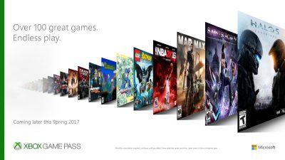 Xbox Game Pass – Die Flatrate für Xbox Games kommt