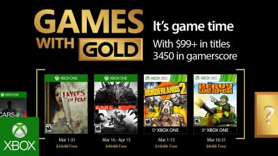 Games with Gold im März – Evolve, Layers of Fear und mehr