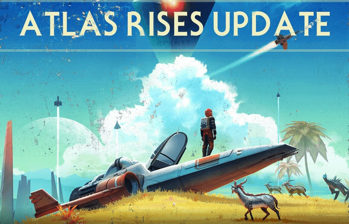 No mans sky atlas rises update