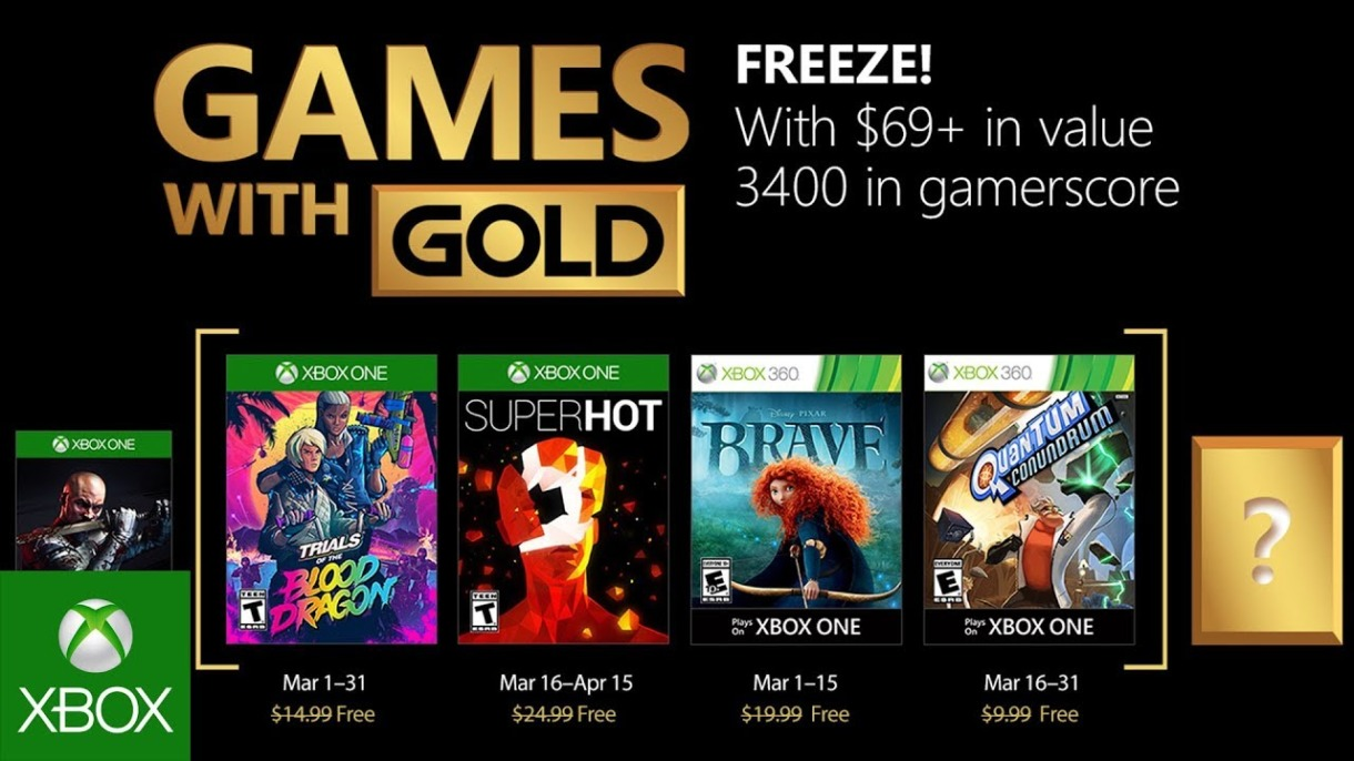 Games with Gold - Maerz 2018