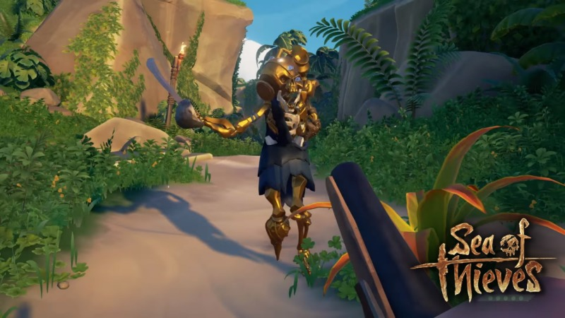 Sea of Thieves - Golden Skeleton