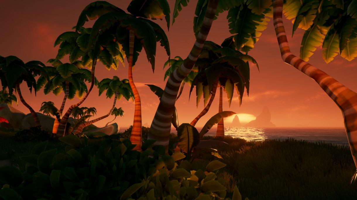 Sea of Thieves - Sonnenuntergang
