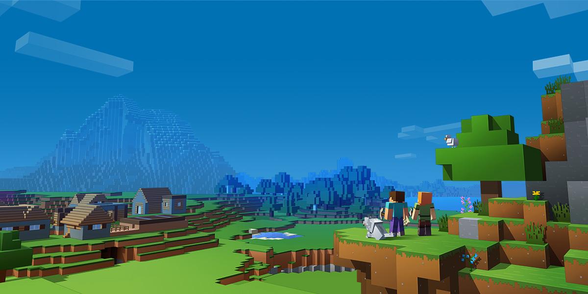 Minecraft Aussicht