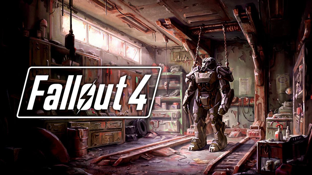 Eine Powerrüstung aus Fallout 4