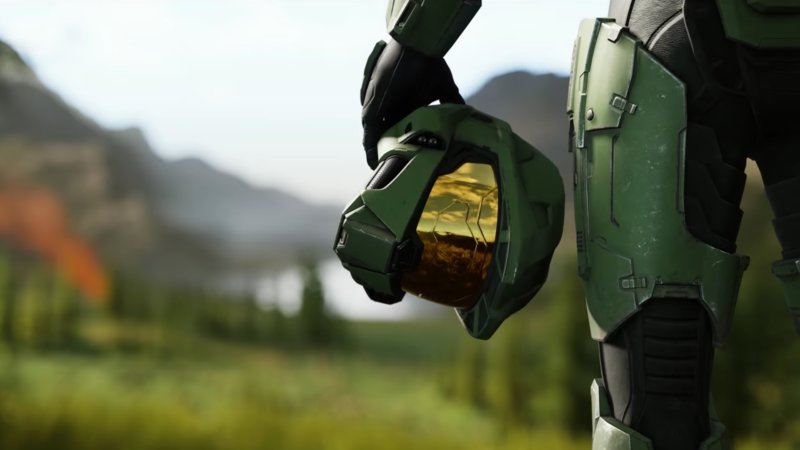 Screenshot aus dem Halo Infinite-Trailer