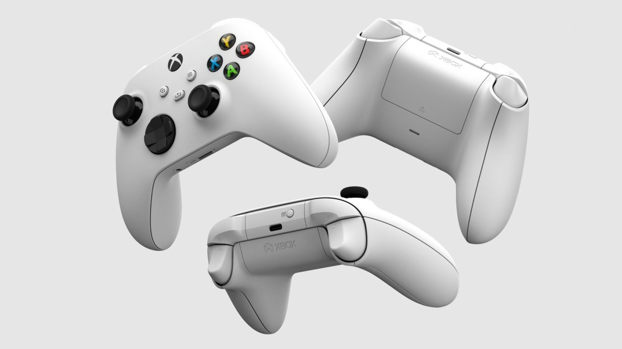 Xbox Series Controller in weiß