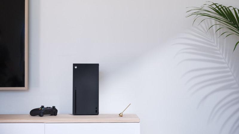 Xbox Series X Wohnzimmer